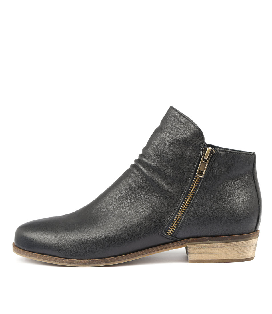 Buy Django & Juliette Split Navy Ankle Boots online with free shipping