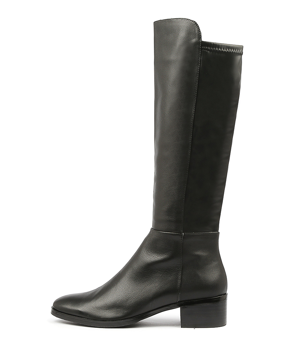 Buy Django & Juliette Tetley Black Long Boots online with free shipping