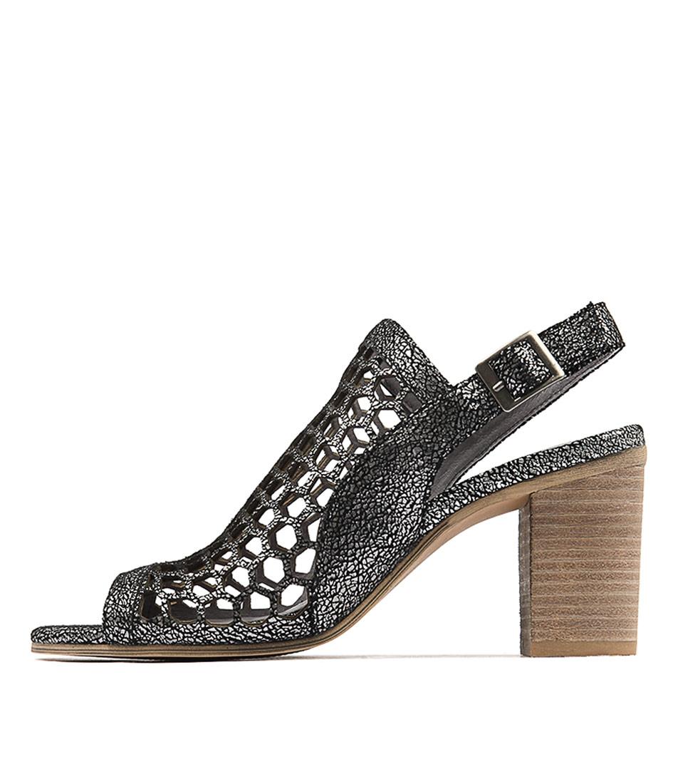 Django & Juliette Vikki Pewter Sandals