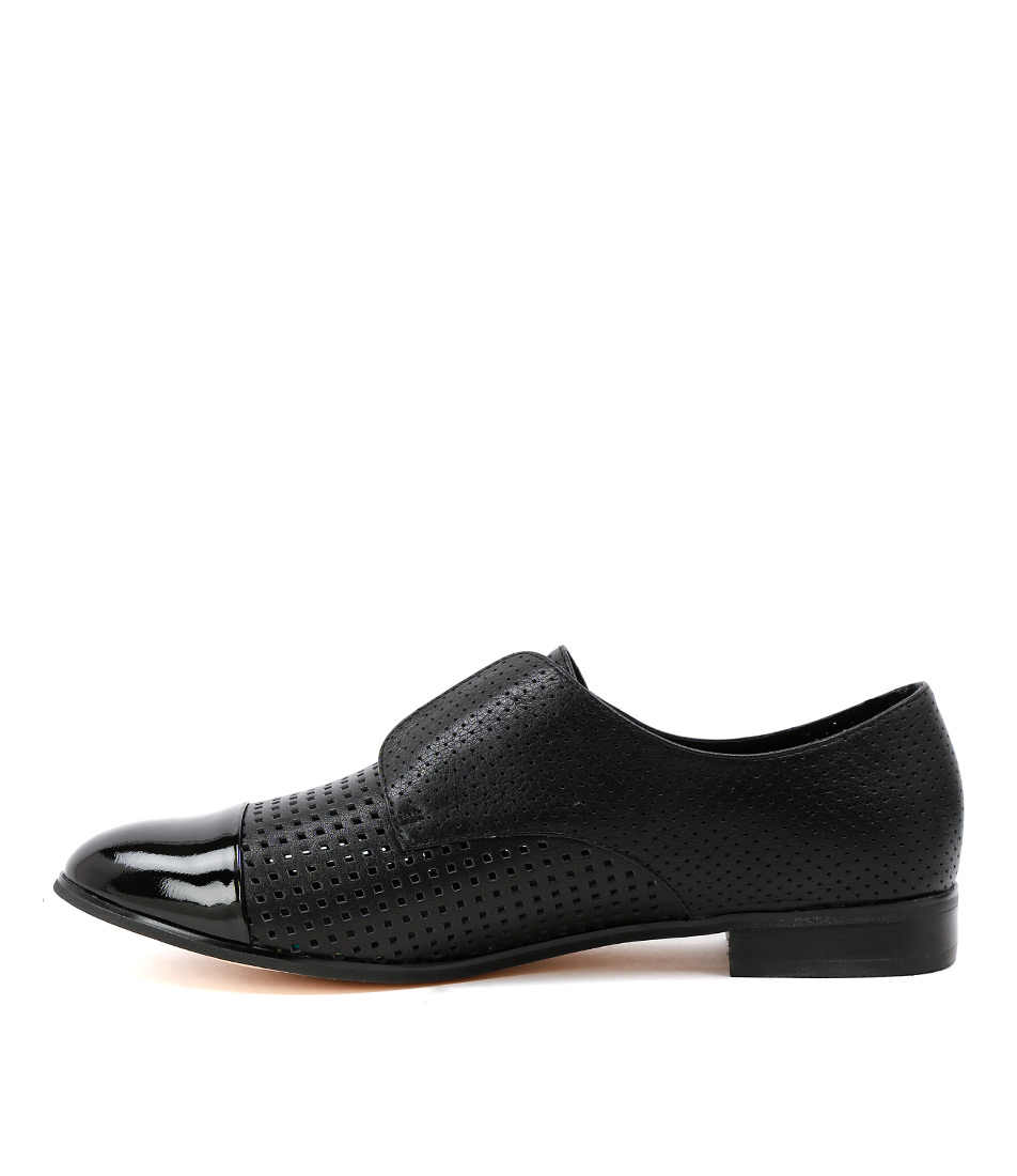 Buy Django & Juliette Jacca Black Flats online with free shipping