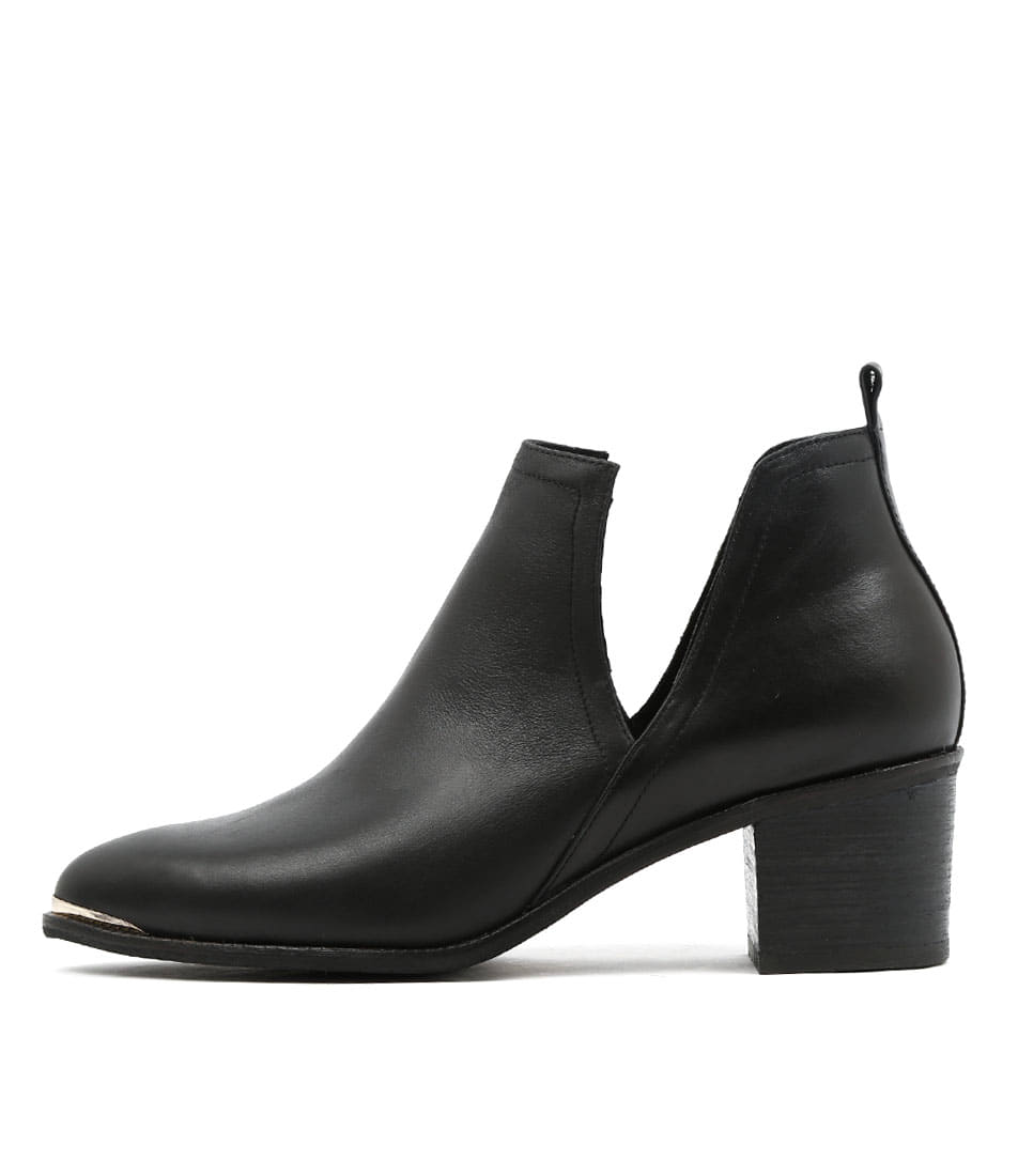 Django & Juliette Henton Black Ankle Boots