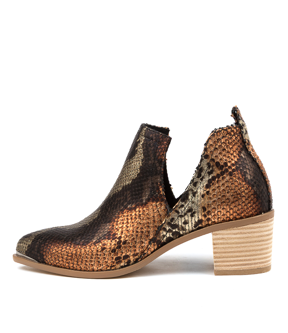 Buy Django & Juliette Henton Rustic Ankle Boots online with free shipping