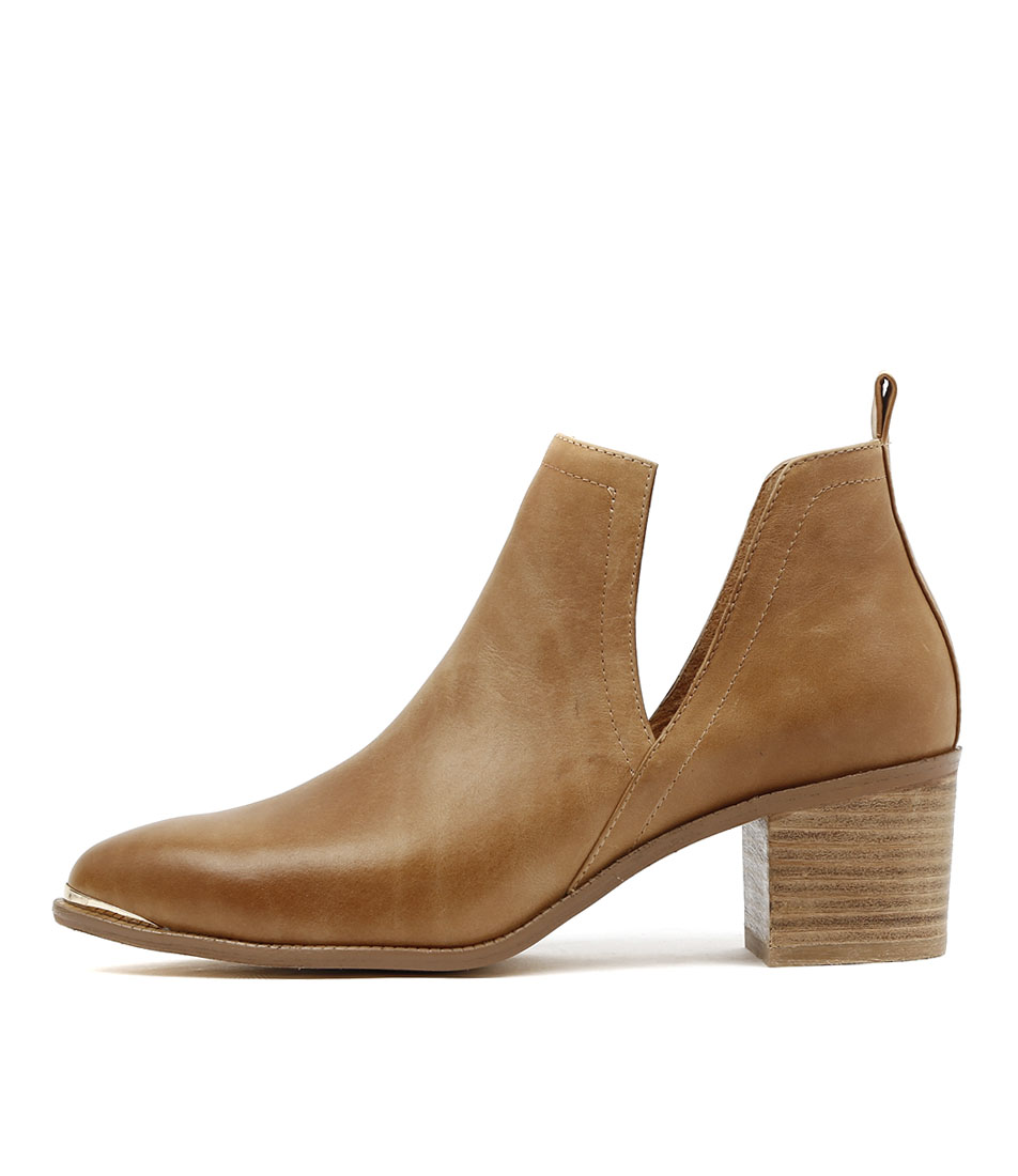 Buy Django & Juliette Henton Tan Ankle Boots online with free shipping