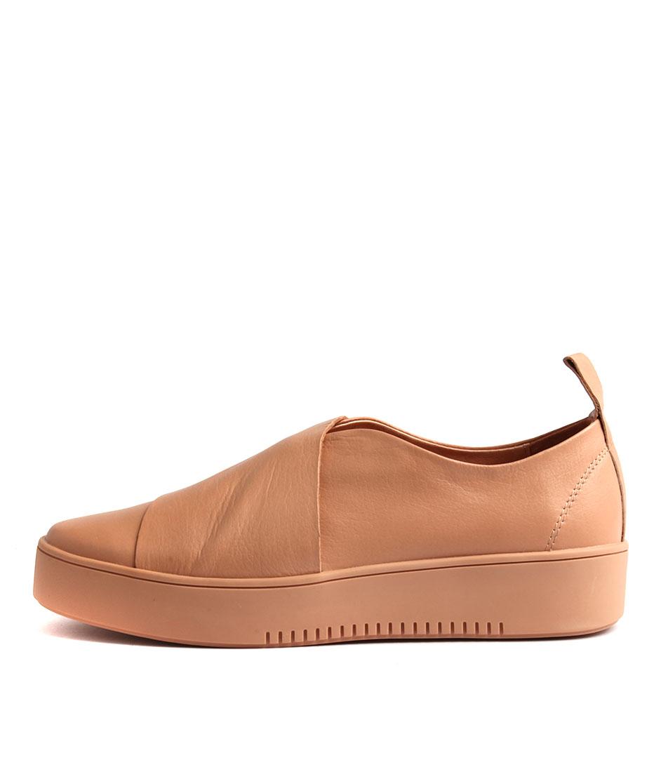 Django & Juliette Lassimo Nude Flat Shoes