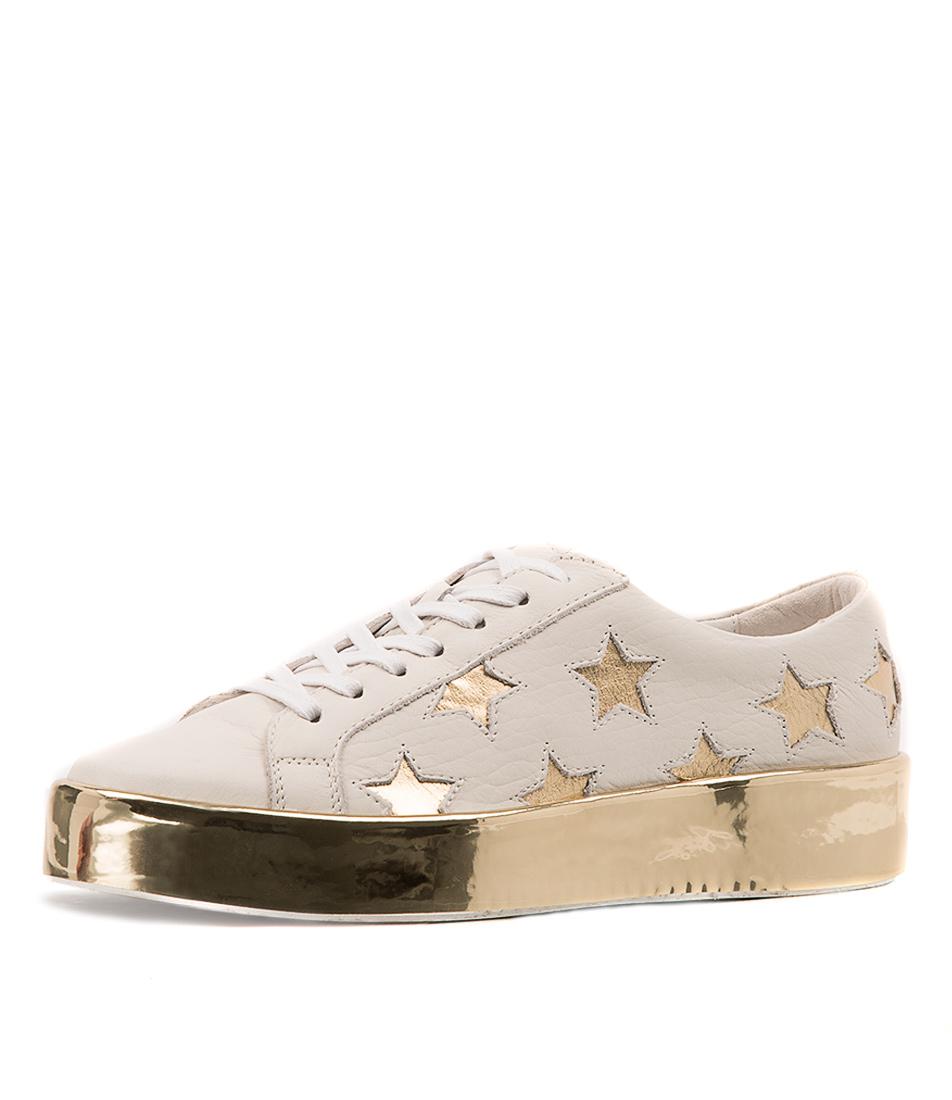 Django & Juliette Lavista White Sneakers