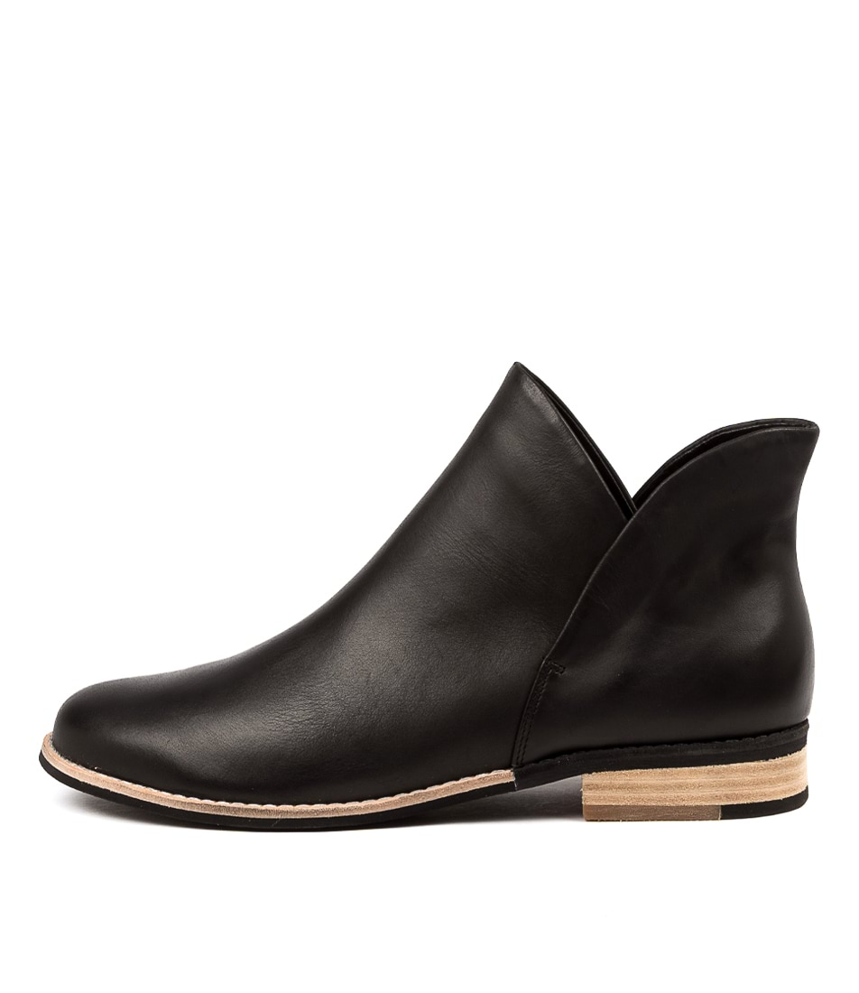 Buy Django & Juliette Aframe Black Ankle Boots online with free shipping