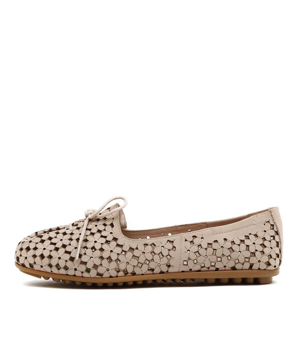 Django & Juliette Bandi Nude Comfort Flat Shoes