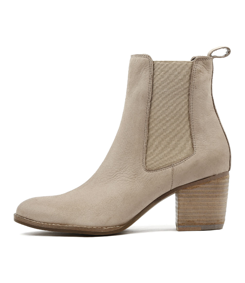 Django & Juliette Beemo Taupe Casual Ankle Boots