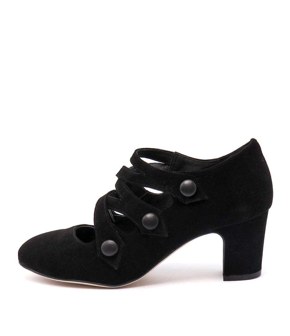 Django & Juliette Emelda Black Black Heels