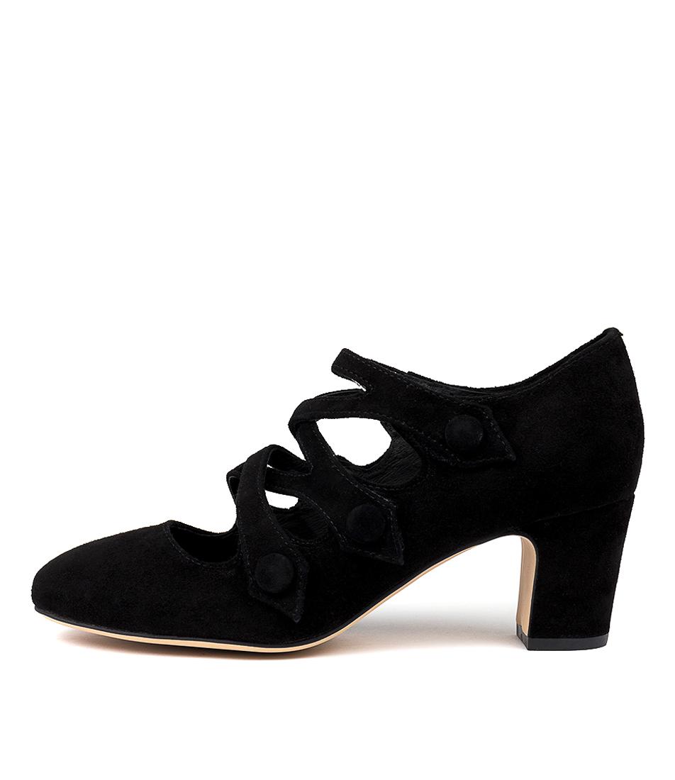 Buy Django & Juliette Emelda Black High Heels online with free shipping