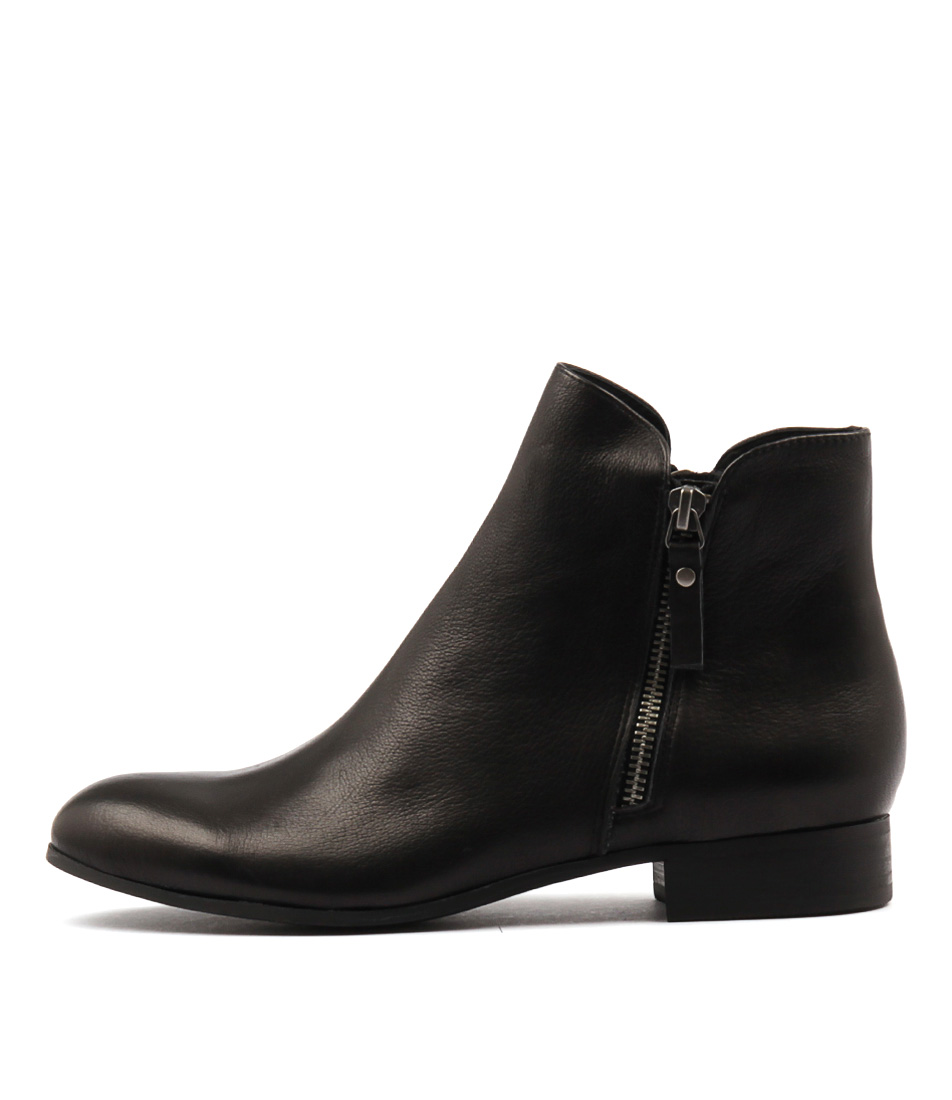 Buy Django & Juliette Fabian Black Ankle Boots online with free shipping