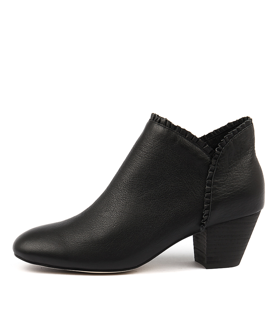 Buy Django & Juliette Henni Black Ankle Boots online with free shipping