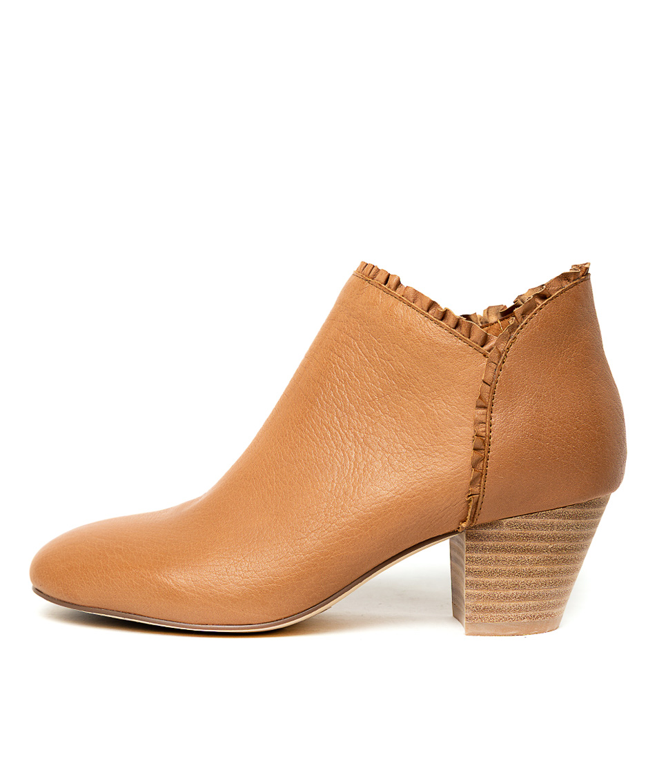 Buy Django & Juliette Henni Tan Ankle Boots online with free shipping