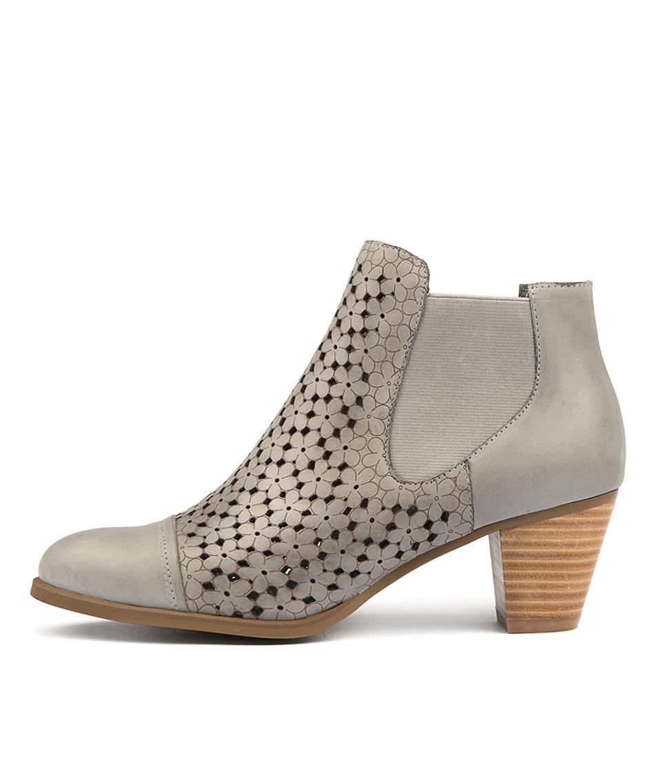 Django & Juliette Invite Blue Grey Ankle Boots