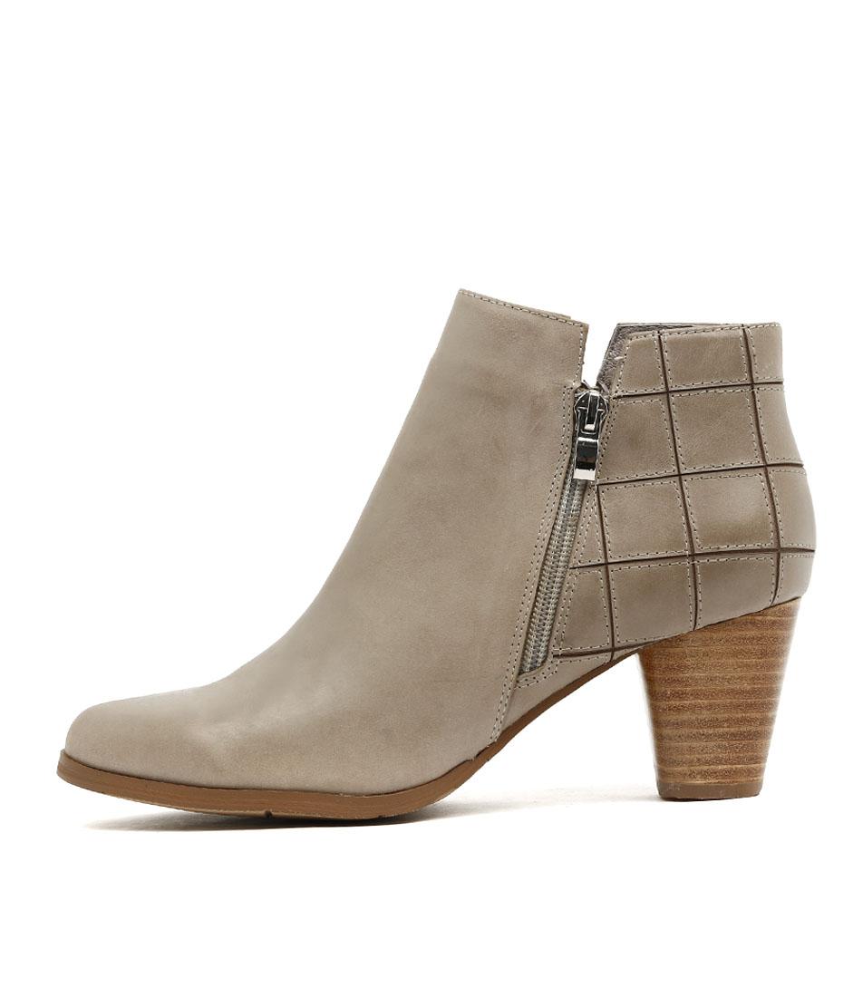 Photo of Django & Juliette Kings Lt Grey Ankle Boots womens shoes