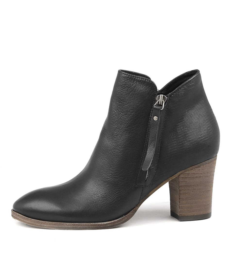 Buy Django & Juliette Nascot Black Ankle Boots online with free shipping
