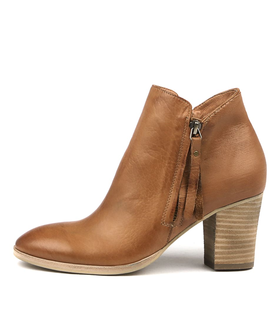 Buy Django & Juliette Nascot Dk Tan Ankle Boots online with free shipping