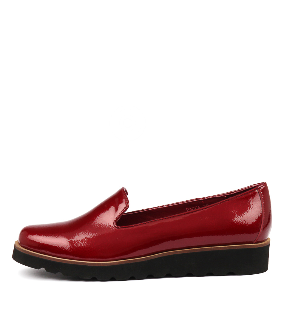 Photo of Django & Juliette Pacca Red Flats womens shoes