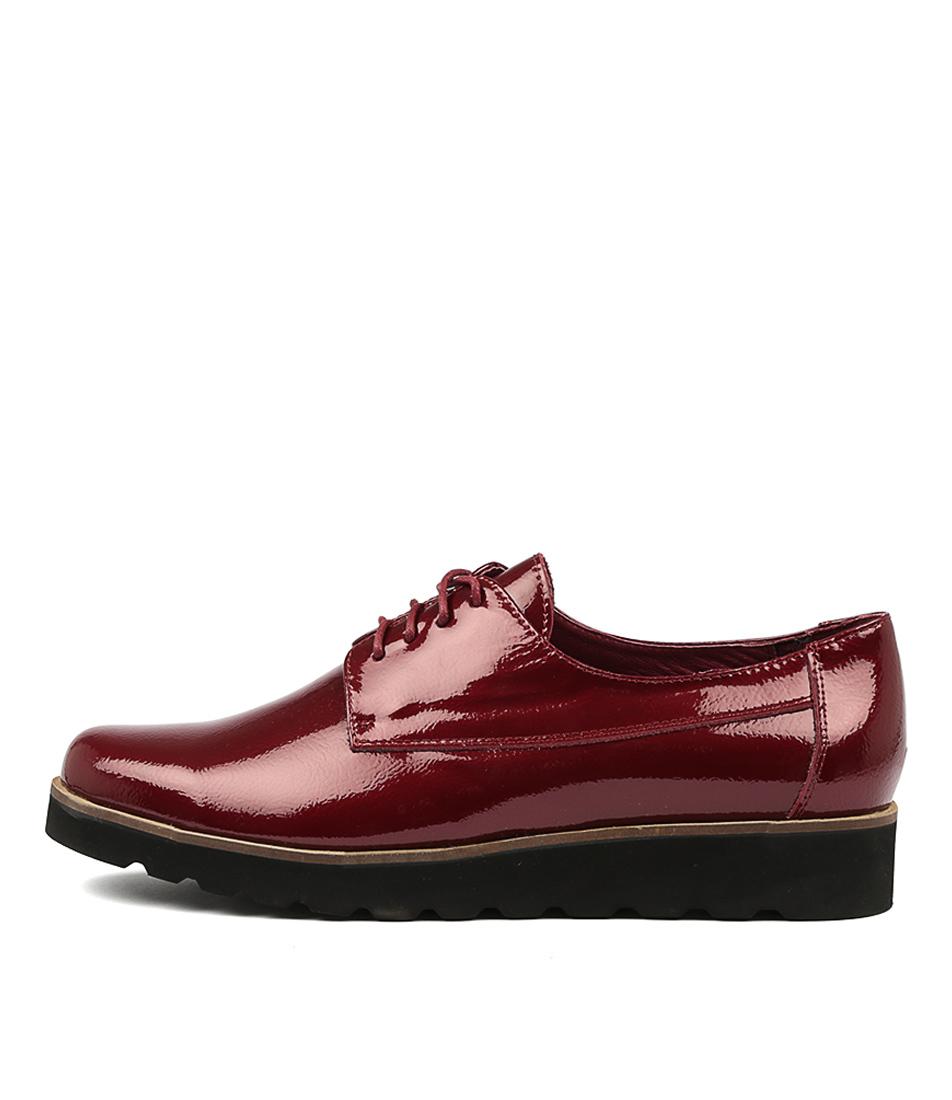 Photo of Django & Juliette Padan Red High Heels, shop Django & Juliette shoes online