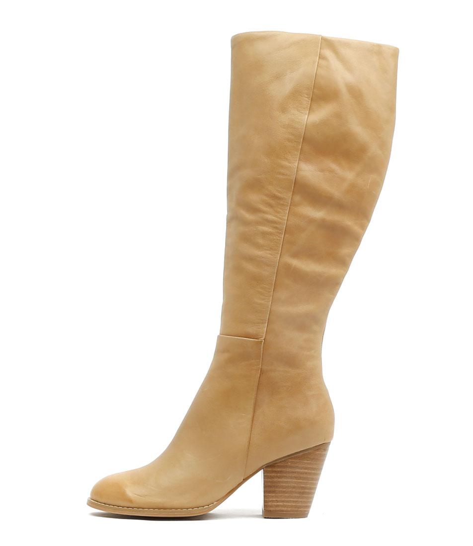 Django & Juliette Rowdy Tan Dress Long Boots