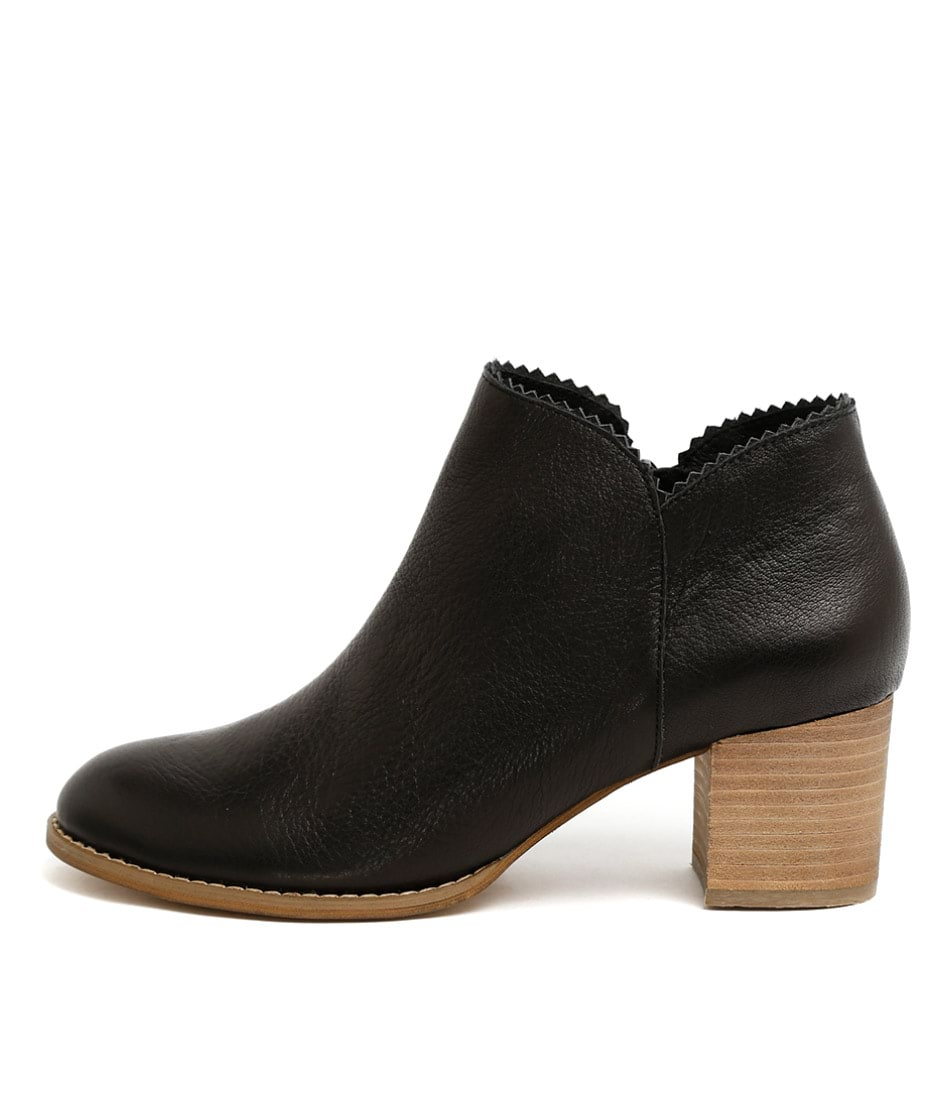Buy Django & Juliette Sharon Black Ankle Boots online with free shipping