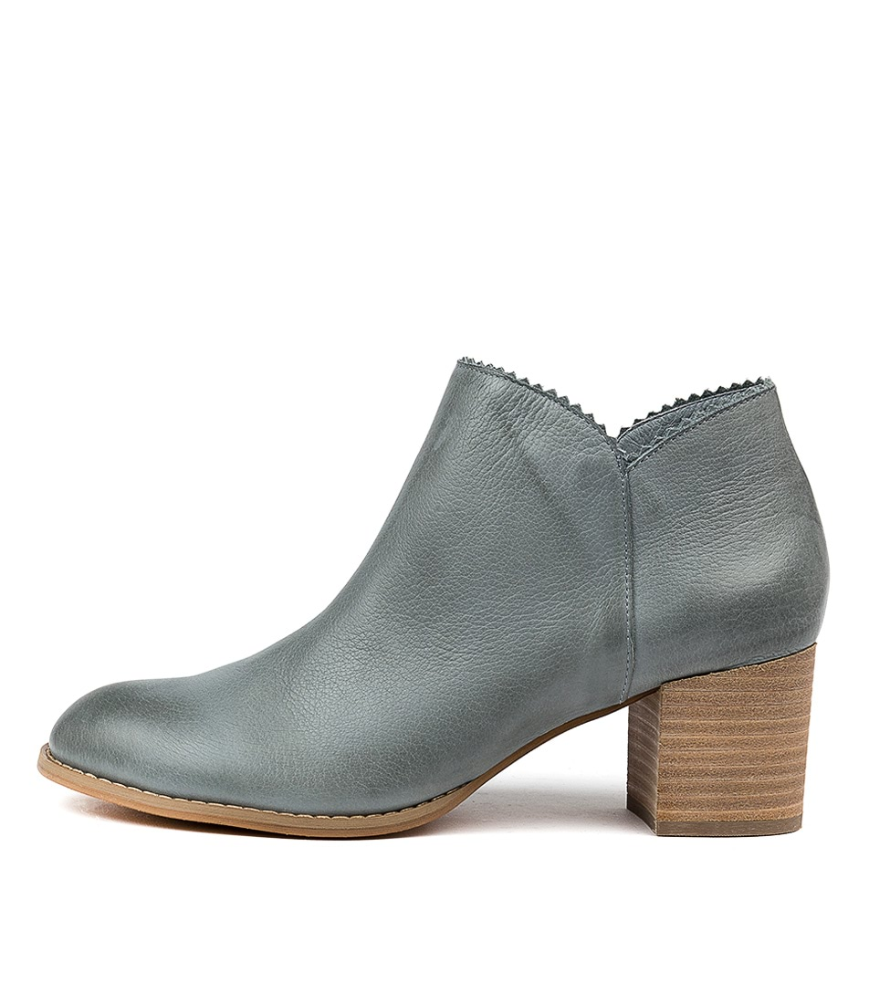 Buy Django & Juliette Sharon Steel Ankle Boots online with free shipping