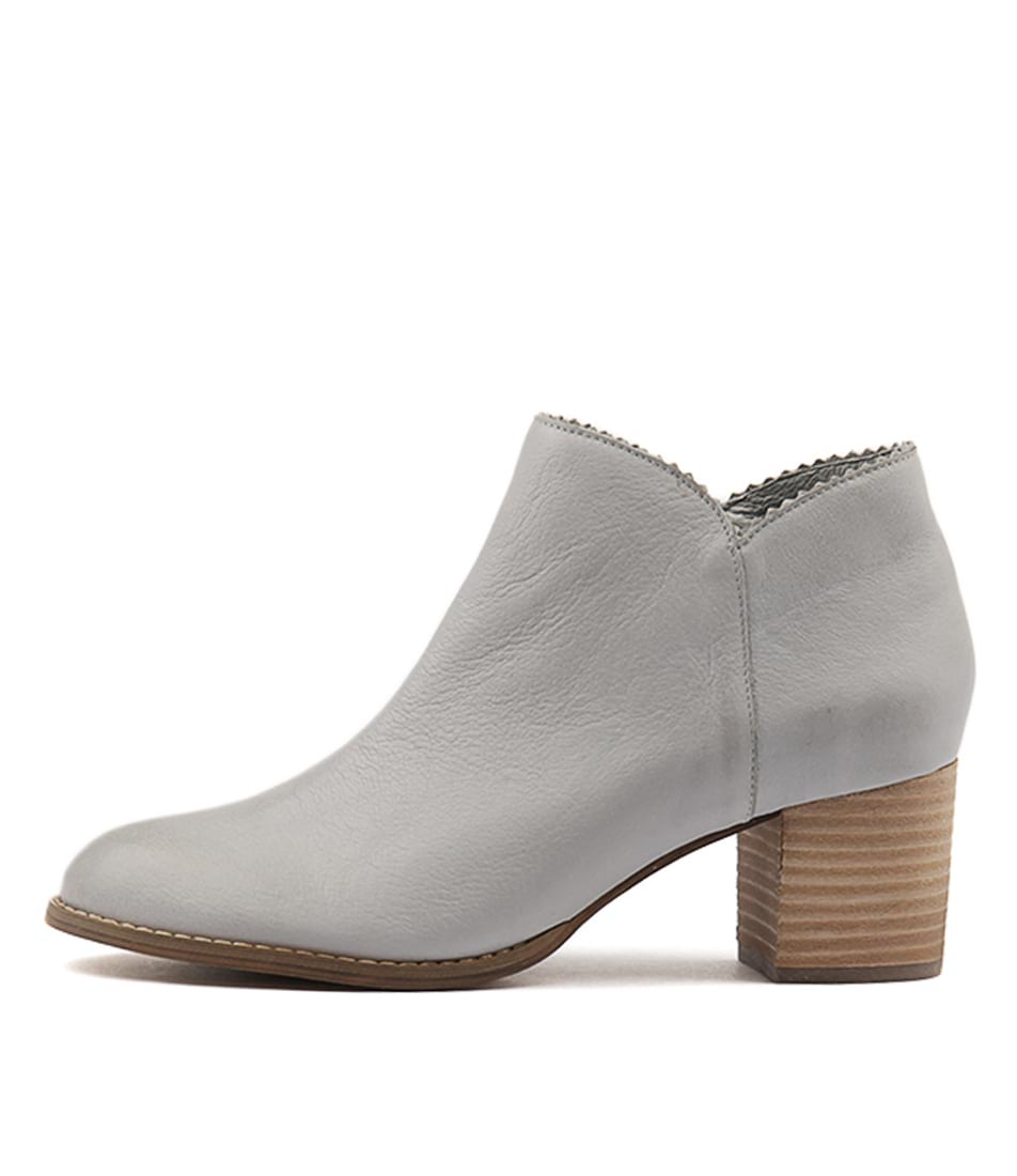 Django & Juliette Sharon Grey Ankle Boots