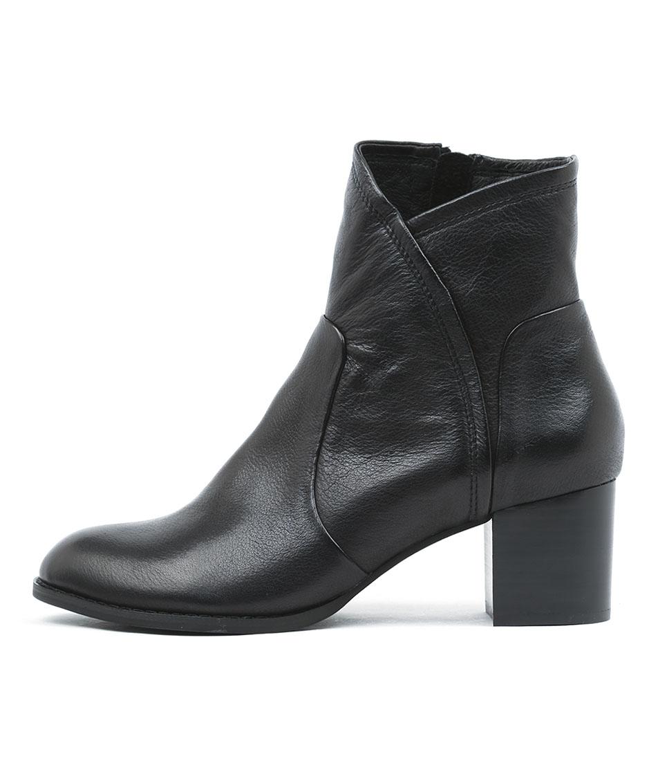 Buy Django & Juliette Slack Black Heel Ankle Boots online with free shipping