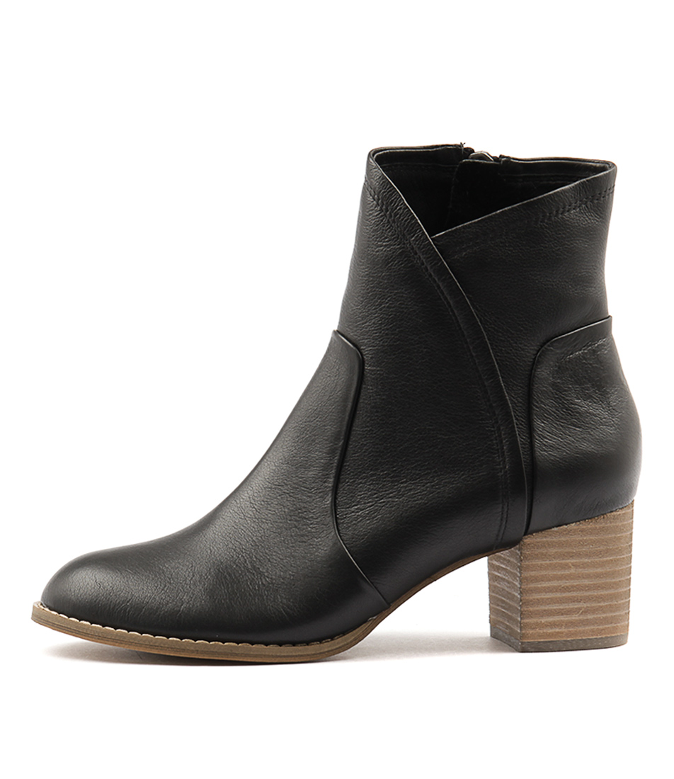Buy Django & Juliette Slack Black Ankle Boots online with free shipping