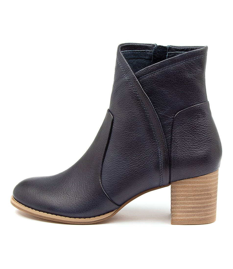 Buy Django & Juliette Slack Navy Ankle Boots online with free shipping