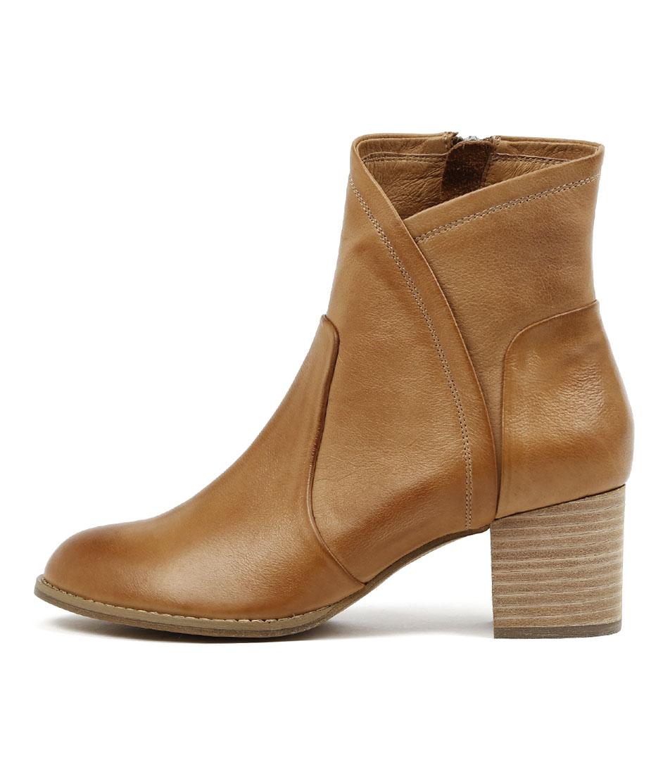 Buy Django & Juliette Slack Dk Tan Ankle Boots online with free shipping