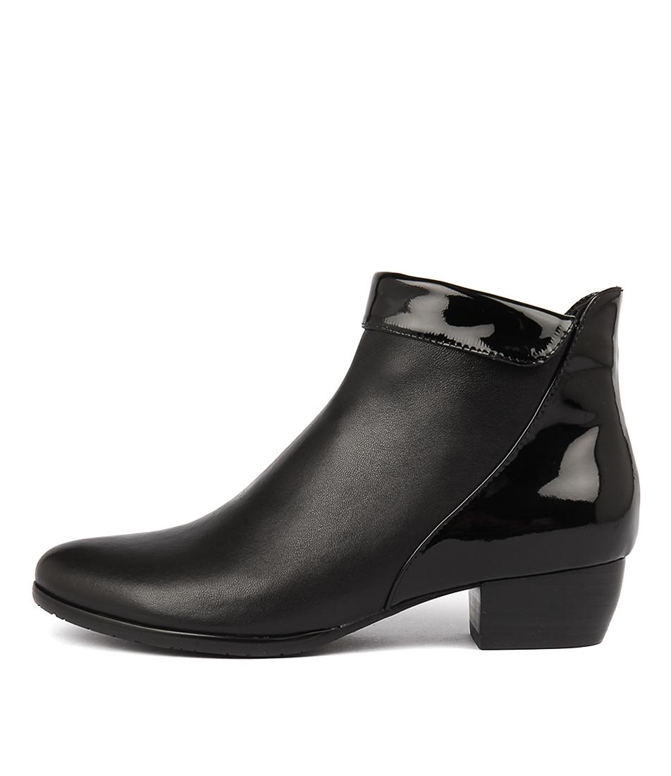 buy Django & Juliette Tella Black Ankle Boots shop Django & Juliette Boots, Ankle Boots online