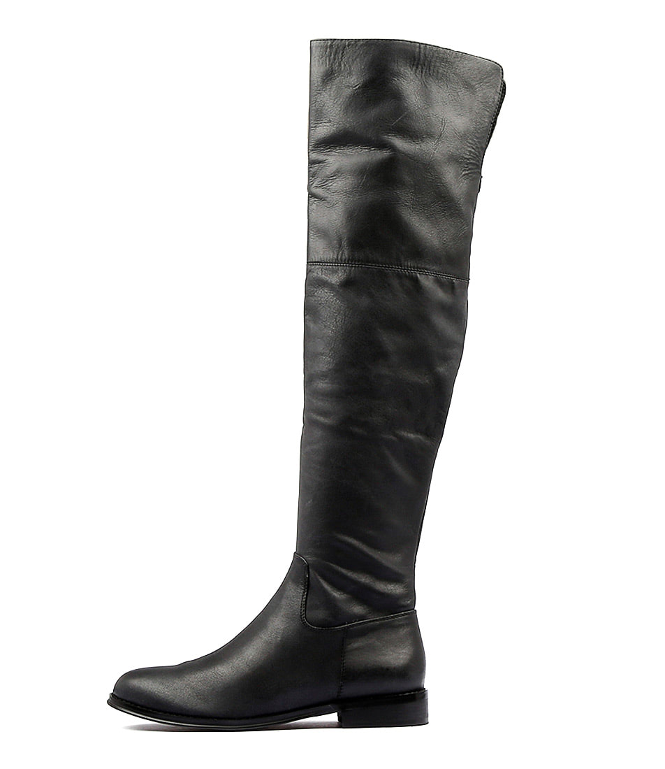 Django & Juliette Yani Black Long Boots