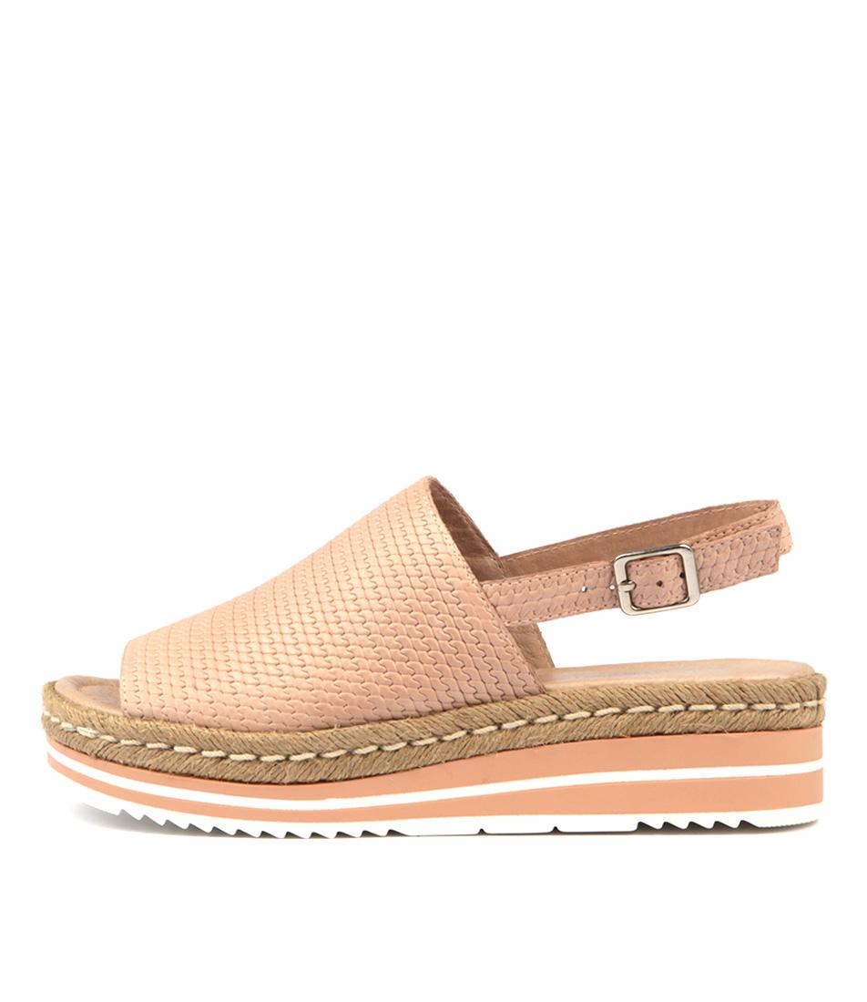Buy Django & Juliette Adidah Nude Flat Sandals online with free shipping