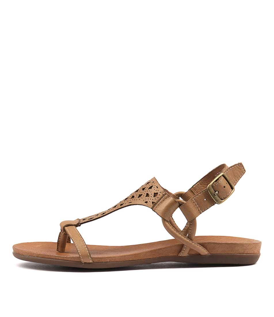 buy Django & Juliette Besha Tan Sandals shop Django & Juliette Sandals online