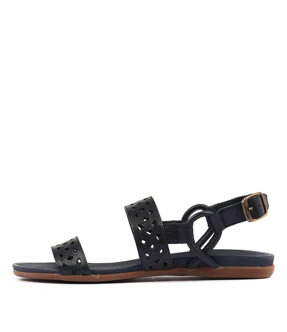 Django & Juliette Besta Navy Sandals