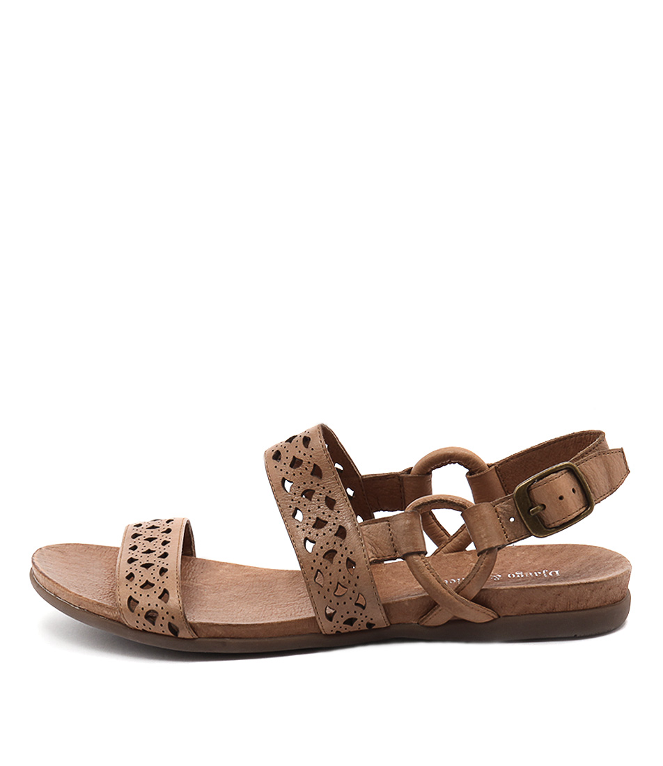 Django & Juliette Besta Tan Sandals