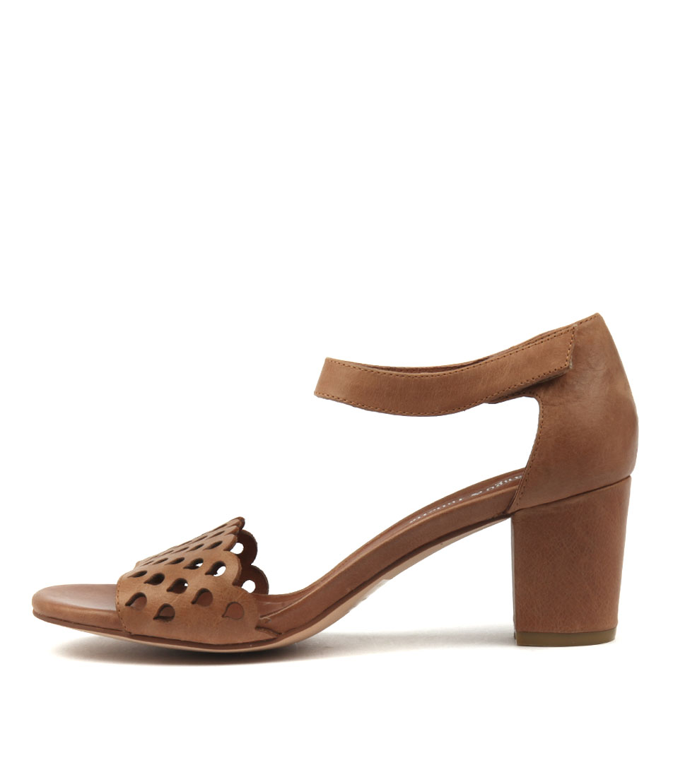 Django & Juliette Candyca Tan Sandals