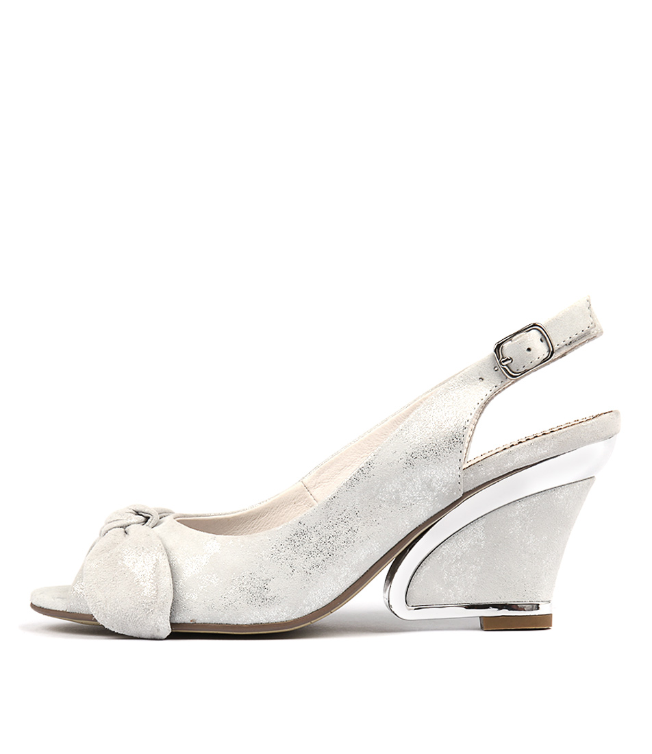 Django & Juliette Escara Misty & Silver Heeled Shoes