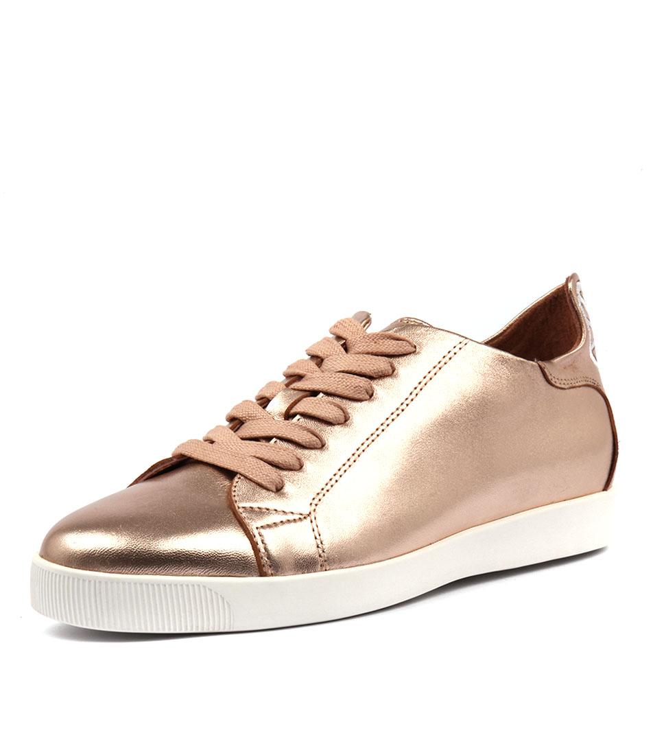 Django & Juliette Galias Rose Gold White Sneakers Sneakers online