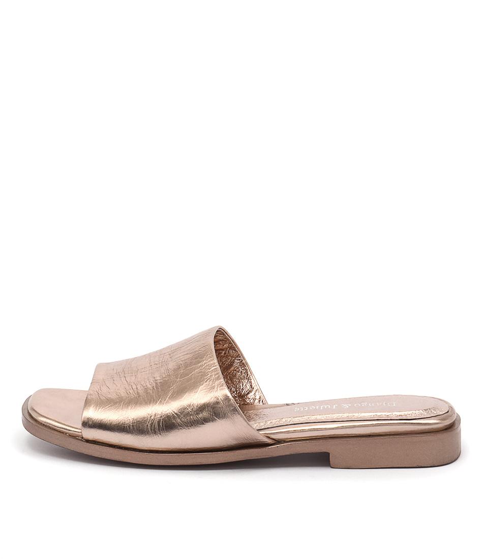 Django & Juliette Grasto Rose Gold Sandals