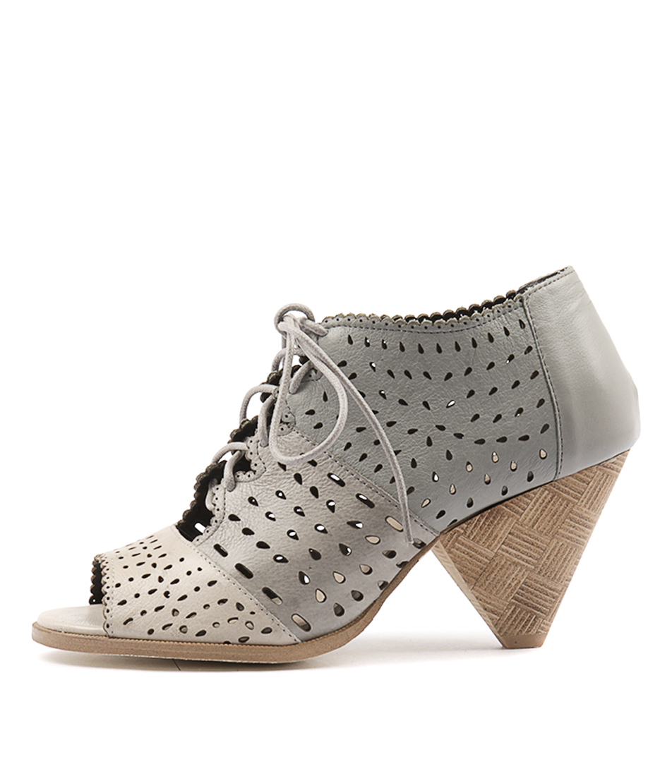 buy Django & Juliette Oceansh Misty Grey Dk G Heeled Sandals shop Django & Juliette Sandals online