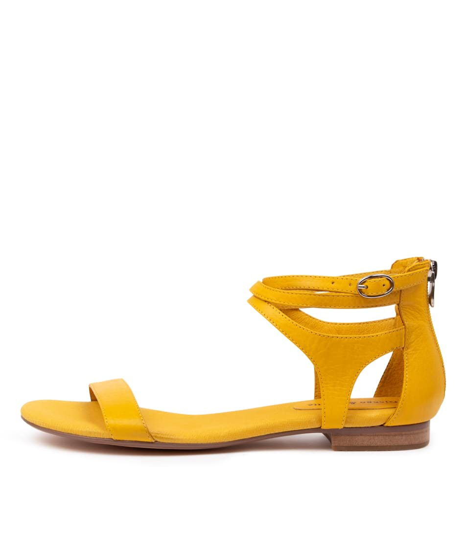 Buy Django & Juliette Please Buttercup Flat Sandals online with free shipping