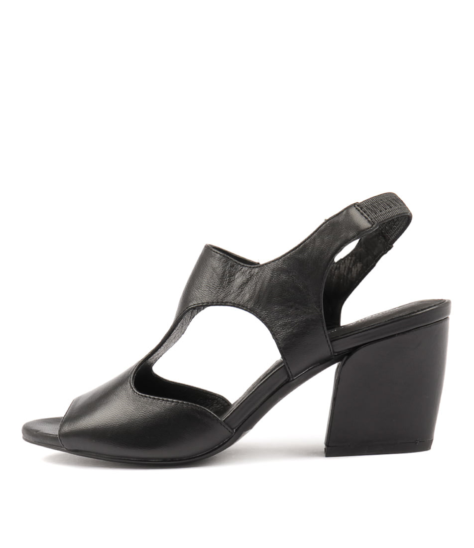 Photo of Django & Juliette Prank Black Sandals, shop Django & Juliette shoes online