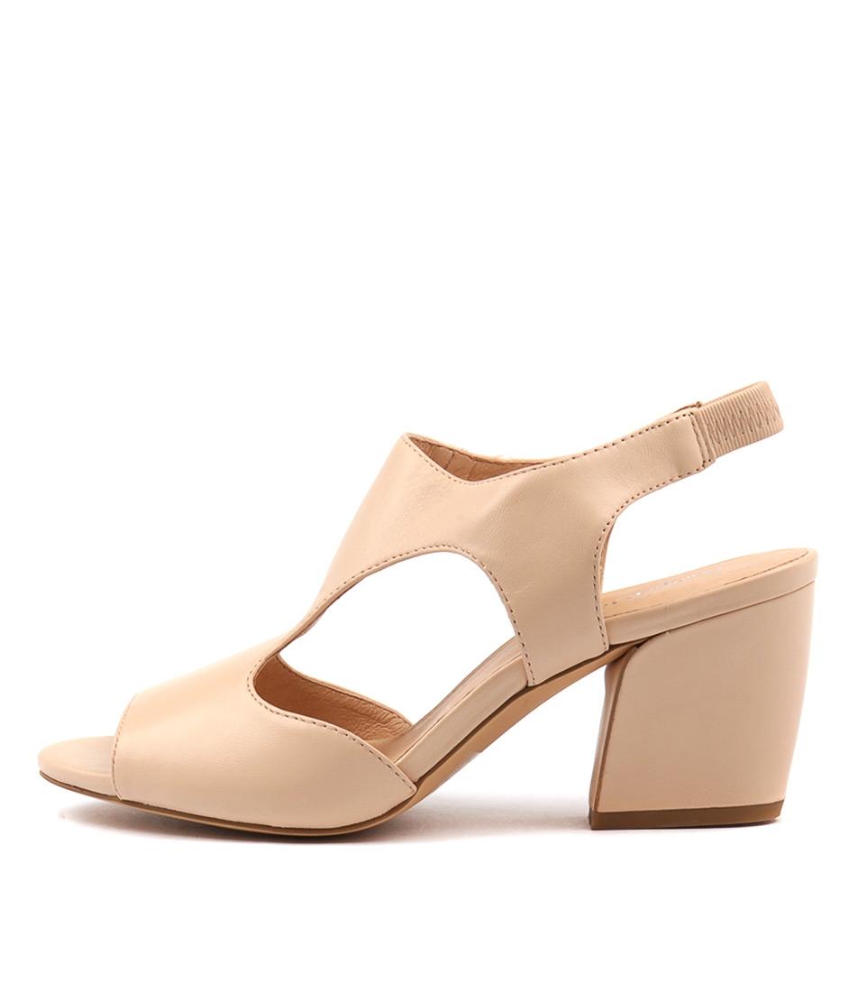 Photo of Django & Juliette Prank Nude Sandals, shop Django & Juliette shoes online