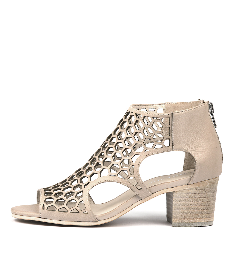 Buy Django & Juliette Bostik Nude Heeled Sandals online with free shipping