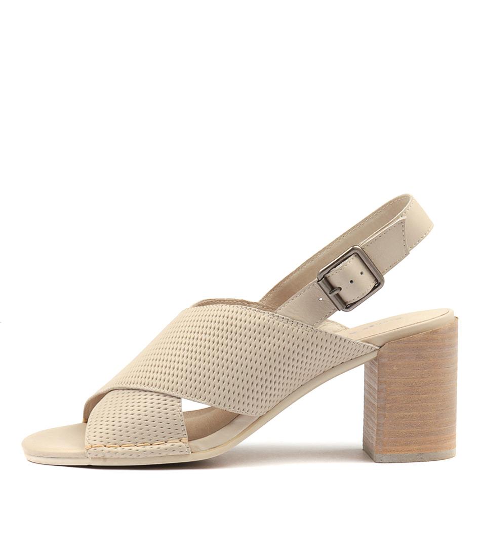 Django & Juliette Deania Stone Heeled Sandals