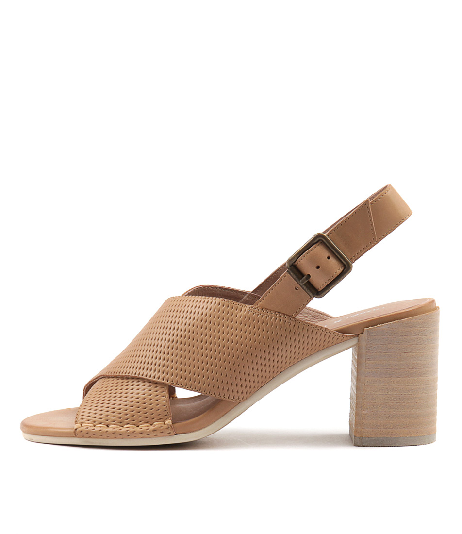 Photo of Django & Juliette Deania Lt Tan Sandals, shop Django & Juliette shoes online