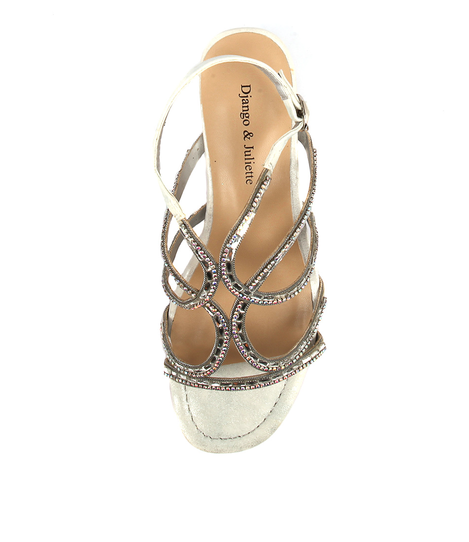New Sandals Django & Juliette 252 Womens Shoes Sandals New Heeled 074506