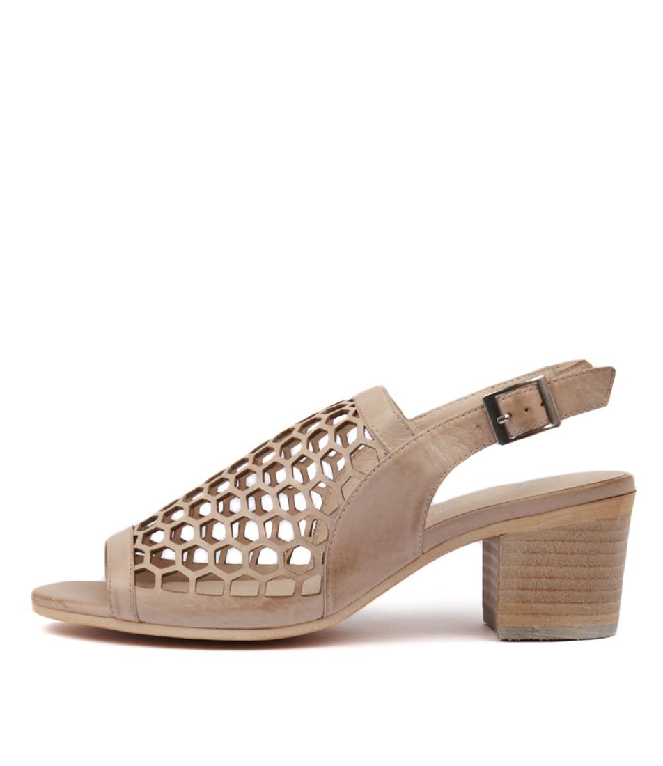 Buy Django & Juliette Bikkis Nude Heeled Sandals online with free shipping